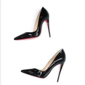 Christian Louboutin Patent So Kate Heels